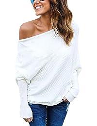 sweatshirt fledermausärmel damen weiss