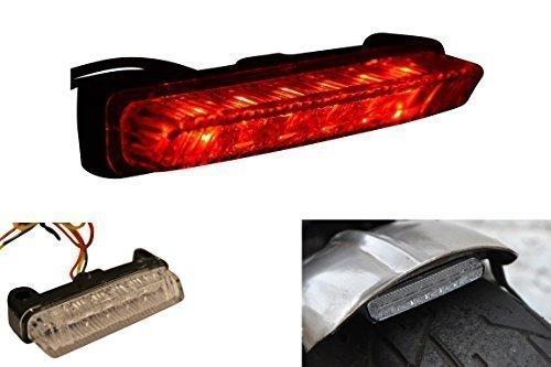 Universale Marchio E LED Motorino Motocicletta Luce Stop Posteriore