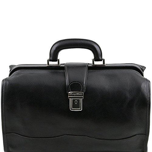 Tuscany Leather - Raffaello - Borsa medico in pelle Miele - TL10077/3 Nero