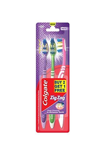 Colgate ZigZag Toothbrush - Medium B2G1 Colgate ZigZag Toothbrush – Medium B2G1 41yLRtmw8nL