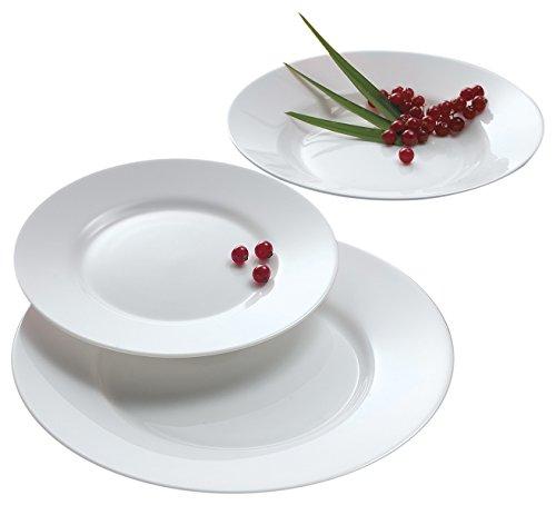 Luminarc Arc International Everyday Dinner Plate (Set of 6), 10.25