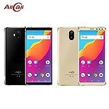 Keng AllCall S1 3G Dual-SIM-fähige Smartphones mit 5,5-Zoll-HD-IPS-Anzeige - Android 8.1 Smartphone - MT6580A Quad Core 1.3GHz - Hintere Quad-Kamera - 5000mAh Große Kapazität - 2 GB ROM - Gold