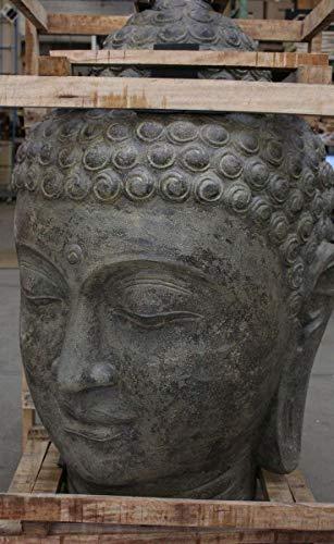 Oriental Galerie Buddha Kopf Groß Stein 120 cm - 4