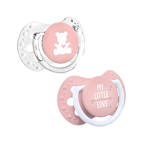 LOVI My Little Love - Pack 2 mini chupetes dinámicos