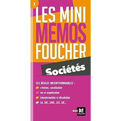 Les mini memos Foucher - Sociétés