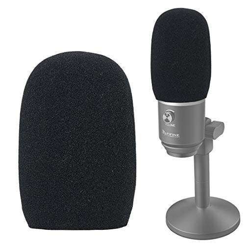 YOUSHARES Schaumstoffmikrophone Windscreen-Wind Cover Mic Pop Filter kompatibel mit FIFINE USB Microphone (K670) für die Aufnahme, Podcasting