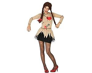 Atosa 17743 Disfraz muñeca vudu adulto XL, talla mujer
