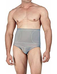 Body Brace Shapewear Men's Cotton Polyster Lycra Tummy Toner Brief