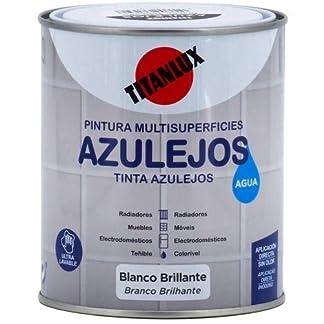TITANLUX – Esmalte Al Agua Brillante Azulejos 750 Ml