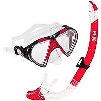 PI-PE Schnorchelset Active mit Taucherbrille und Schnorchel