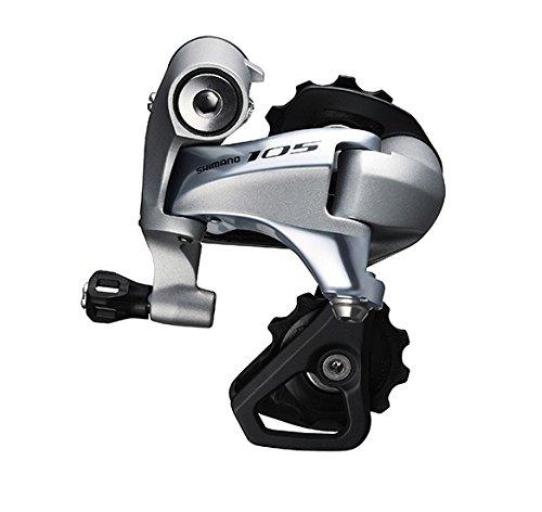 Shimano 105 RD-5800–Schaltwerk Vorne für Rennrad–11-Fach Silber Kurzer Käfig 2016Schaltwerk für Rennrad (Rennrad Schaltwerk)