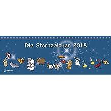 Die Sternzeichen 2018 Tischkalender