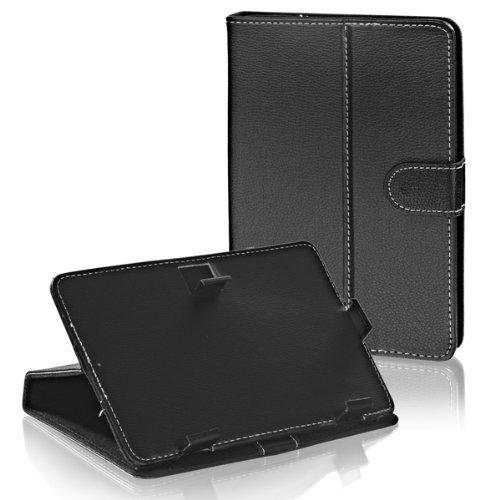 Tasche Etui Hülle Book Case schwarz mit Standfunktion passend für Nextbook Premium 7SE ()