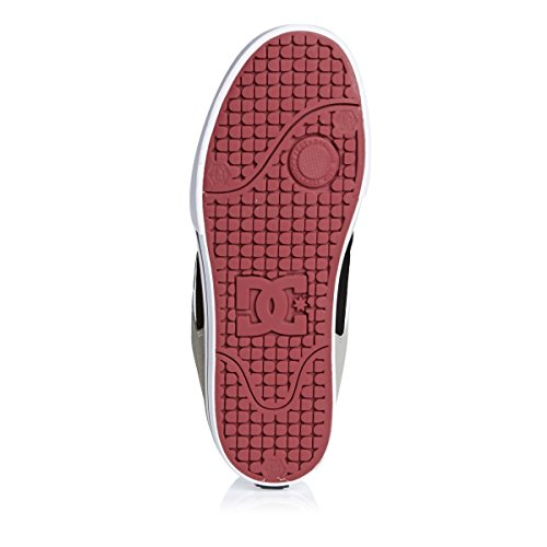 DC Shoes Pure Mens Shoe D0300660, Baskets mode homme Grey Black Red