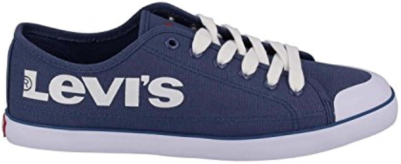 Men/Women LEVIS sale BLUE SLIPPER 223089-2733-19 42 Blue Big clearance sale LEVIS cheapest Tide shoes list 6b3090