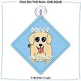 Doggy on Board Car Sign