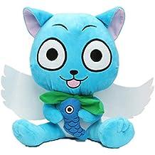 "Fairy Tail Happy Cat Plush 12"" Toy #B"