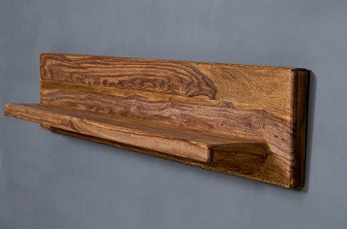 Edles Wandboard Platz für Ihre Deko 180cm Sheesham Massivholz