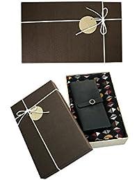 emartbuy Coffret Cadeau Marron - Porte-Monnaie   Foulard - Châle, Écharpe,  Étole d76eb1adc49