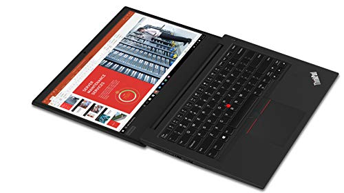 Lenovo ThinkPad E490 Intel Core i3 8th Gen 14-inch HD Thin and Light Laptop (4GB RAM/ 1TB HDD/ Windows 10 House/ Black/ 1.75 kg), 20N8S16400 Image 5