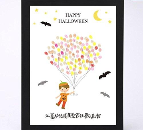 XYLUCKY Halloween-Zeichen in der Signatur-Malerei