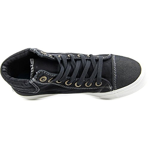 Blowfish Madras Damen Leinwand Sportliche Turnschuh Black