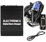Electronicx TM06-RD3 Changeur de musique numérique DMC USB MP3 AUX SD CD Adaptateur...