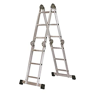 arcama 313 – Articulated Ladder EN131 (3 x 4 Steps/Aluminium