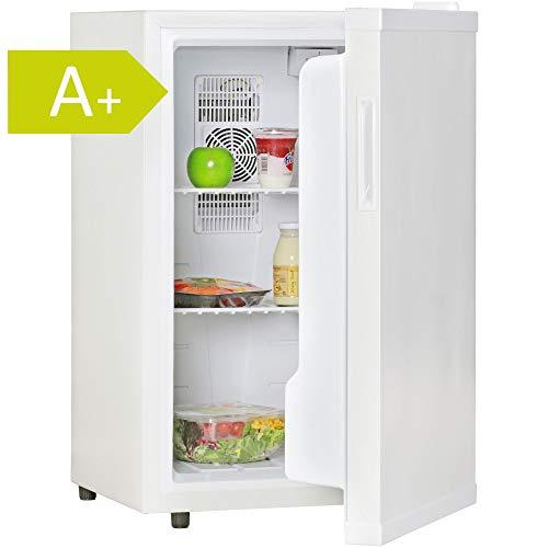 FineBuy Mini Kühlschrank 65 Liter/Minibar weiß/Getränkekühlschrank 5° bis 15°C (EEK: A+)