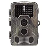 Luckyza 1080P GMS Beutekameras 16MP IP65 120 ° Weitwinkelobjektiv Überwachungskamera Nachtsicht 20M 0.2S Zeitauslöser Jagdkamera Für Gartenhaus Im Freien