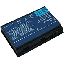 Acer GRAPE32, GRAPE34, TM00741, TM00751, BT.00603.024, BT.00604.011, BT.00604.015, BTP00.006 ((14.8v), CONIS71, LC.BTP00.003, LC.BTP00.005, LC.BTP00.006 ((14.8v), LC.TM00741, LIP6219VPC, LIP6219VPC SY6, LIP6232CPC, LIP6232CPC, T.00604.015 batería del ordenador portátil del reemplazo para ACER Extensa 5210, 5220, 5620, TravelMate 5310, 5320, 5520, 5710, 5720, 7520, 7720 portátiles de la serie (11.1V, de 6 celdas, 5200mAh)