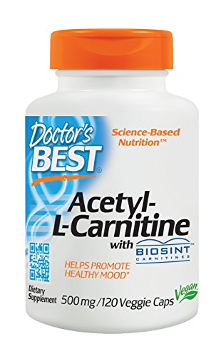 Doctor's Best, Best Acetyl-L-Carnitine HCl, 588 mg, 120 Capsules