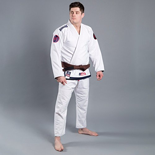 Scramble Athlete 3 Kimono Gi Suit - White Jiu Jitsu Training - Adults