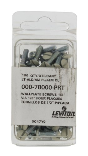 leviton-78000-prt-1-2-inch-long-6-32-thread-oval-head-milled-slot-replacement-wallplate-screws-light