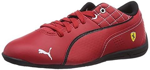 Puma Drift Cat 6 L SF Jr, Sneakers basses mixte enfant - Rouge - Rot (05 rosso corsa-rosso corsa-black), Taille 33