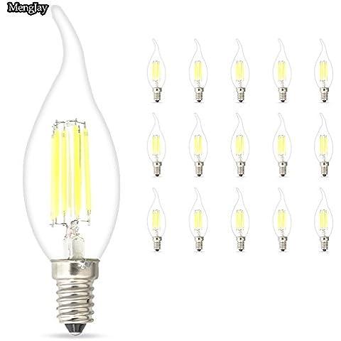 Mengjay® 4W E14 LED candela lampada del