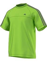 adidas Essentials 3 Stripes T-Shirt Homme