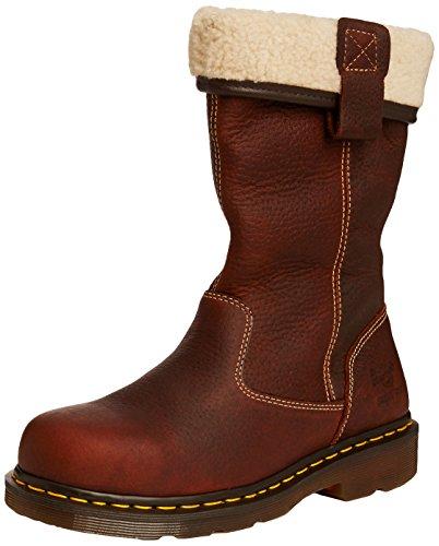 Dr. Martens Industrial  Rosa/ST,  Damen Stiefel , braun - braun - Größe: 40 EU (Womens Wonder Boots Woman)