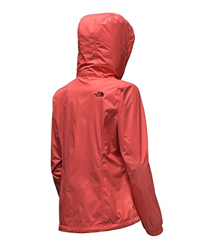 North Face Women's Resolve Jacket, Spiced Coral, Large