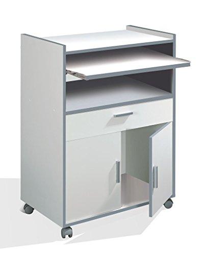 Habitdesign 009910o mueble auxiliar mesa cocina con un - Mesa cocina con cajon ...