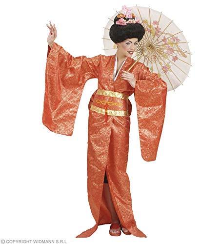 Widmann wdm90573-Kostüm für Erwachsene Geisha, mehrfarbig, L