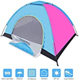 Prakal 4 Person Pop up Tent Instant Tent Lightweight Automatic Portable Tent Backpacking