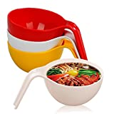 Soup, Noodles, All Purpose Individual Large Serving Bowl with Cool Handle Grip