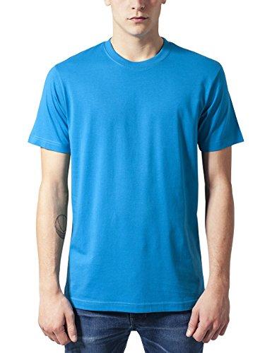 Urban Classics Herren T-Shirt Basic Tee Türkis (turquoise 217)