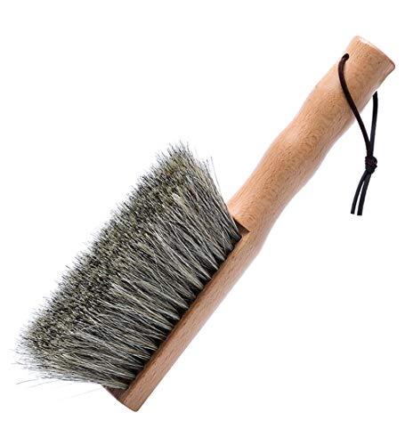 YUDEYU Cepillo De Polvo Natural Fibra Casa Limpiar Anti Estático Habitación Maquina Barredora Herramienta (Tamaño : 24.5cm)