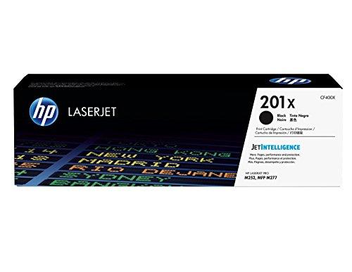HP 201X (CF400X) Schwarz Original Toner mit hoher Reichweite für HP Color Laserjet Pro M252, M274n, M277 -