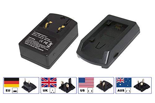 PowerSmart® Reise Ladegerät für Sony HDR-CX Serien HDR-CX100, HDR-CX100E, HDR-CX105E, HDR-CX106E, HDR-CX12, HDR-CX12E, HDR-CX130B, HDR-CX130R, HDR-CX155E, HDR-CX160B, HDR-CX160E Cx12-serie