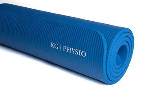 KG-Physio-Esterilla-de-yoga-extra-grueso-12-mm-con-correa-de-hombro miniatura 9