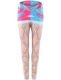 Juleya Damen Yoga Leggings Pants Sporthose Skinny Leggins Fitness Hohe Taille Slim Fit Laufhose Jogging Sport Gym Casual Pants Stretch Workout Trainingshose Sexy Strumpfhosen