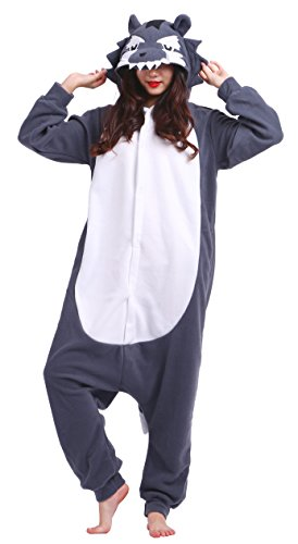 as Kostüm Cartoon Cosplay Winter Jumpsuit Kinder Teenager Mädchen (Niedliche Halloween-teenager-mädchen Kostüme)